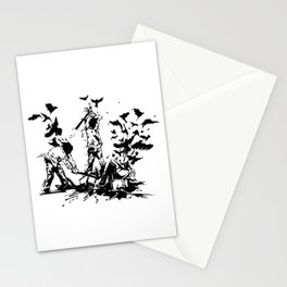Famous also Fade Stationery Cards
