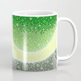 Aromantic Pride Flag Galaxy Coffee Mug