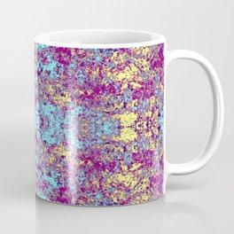 Pulple Blue Beige Butterfly Coffee Mug
