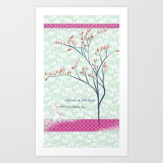 Summer's Day Art Print