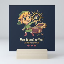 The Legendary Coffee Mini Art Print