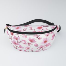 Cherry blossom flowers romantic spring pattern Fanny Pack