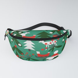 Christmas evergreens Fanny Pack