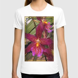 Rose Madder Orchids T-shirt