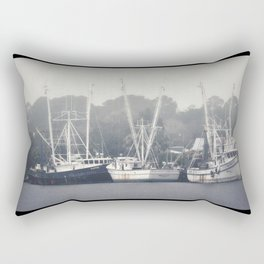 Shrimp Boats Rectangular Pillow