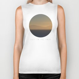 Lost In The Haze Biker Tank