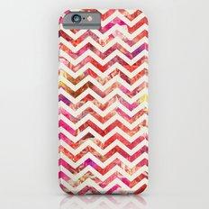 FLORAL CHEVRON Slim Case iPhone 6s