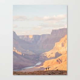 Hikers Canvas Print