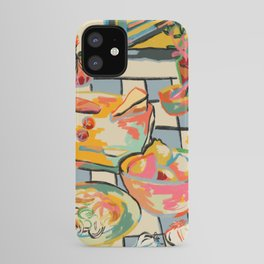 BREAD AND PASTA LOVE  iPhone Case