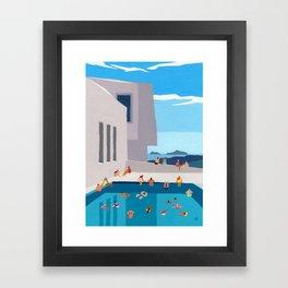 Modern Views Framed Art Print