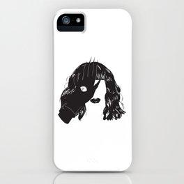 Yekaterina Petrovna Zamolodchikova Black&White iPhone Case