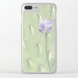"""""""Desert Wildflower"""" Clear iPhone Case"""