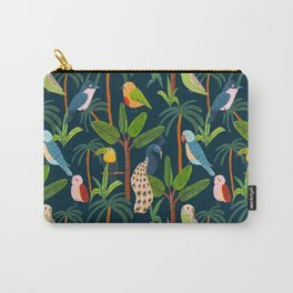 Jungle Birds Carry-All Pouch