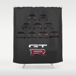 GTR Shower Curtain