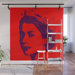 God Save The Queen Wall Mural