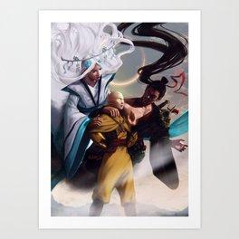 Avatar Spirits Art Print