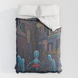 Number City Comforters