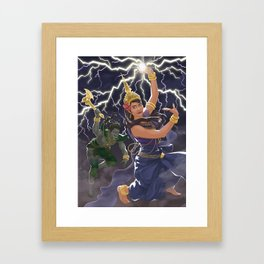 Moni Mekhala and Ream Eyso Framed Art Print