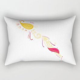 LUXURY COLLECTION : MOROCCO gold tattoo Rectangular Pillow