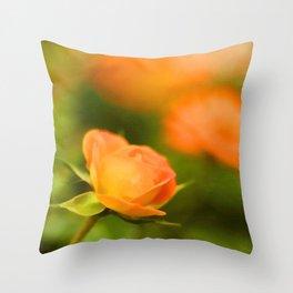 MS Rose Throw Pillow