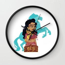 Rani Lakshmibai Wall Clock