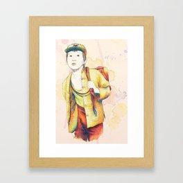 Short Round - Secondary character? Never! Framed Art Print