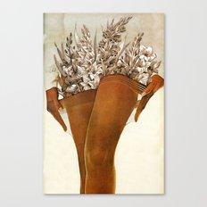 Gladiolous Canvas Print