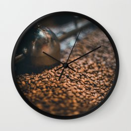 Roasted Coffee 4 Wall Clock