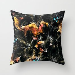 Christmas Tree - Mystery Time Throw Pillow