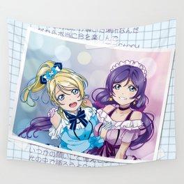 Nozomi & Eli (KiRa-KiRa Sensation edit) Wall Tapestry