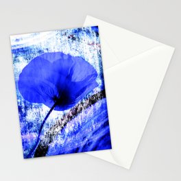 Blue Poppy vintage 222 Stationery Cards