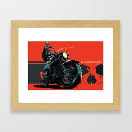 """""""The Man Who Sold The World"""" Framed Art Print"""