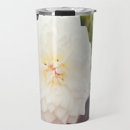 White Petals Travel Mug