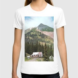 Country Schoolhouse at the Gold Rush Idarado Mine T-shirt