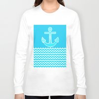 anchor Long Sleeve T-shirts featuring Anchor by haroulita