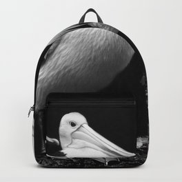 Pelican Trio black and white Backpack