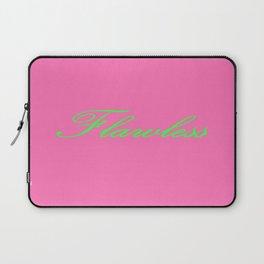 Flawless Pink & Green Laptop Sleeve