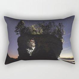Erosion of Time Rectangular Pillow
