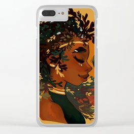 Thyme and time again Clear iPhone Case