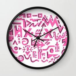 Pink charm Wall Clock