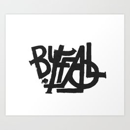 BRAND NAME Art Print