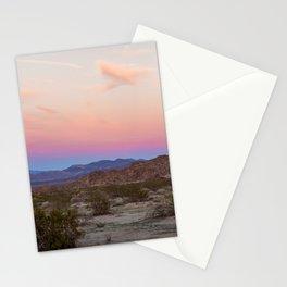 Sunset at Joshua Tree Stationery Cards