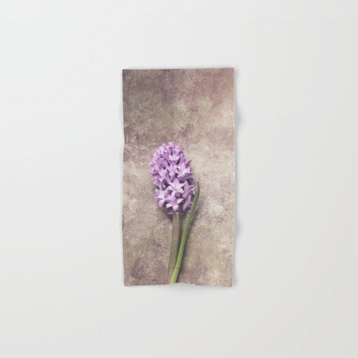 Light Purple Hyacinth Hand & Bath Towel