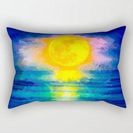 Haunting Moon Rectangular Pillow