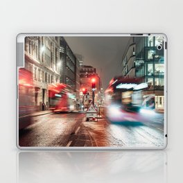 London at night Laptop & iPad Skin