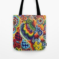 globe Tote Bags featuring Globe by Leah Moloney