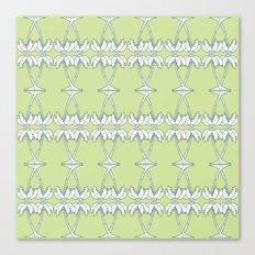 Palm Decco Canvas Print