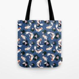 Japanese carps Tote Bag