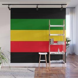 Rastafarian Colors Wall Mural