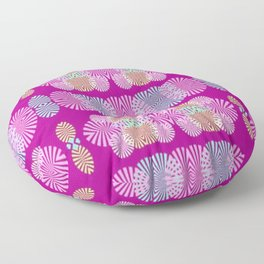 Destellos de luz Floor Pillow
